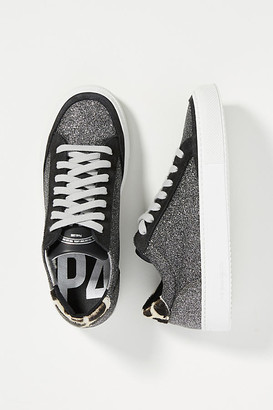 P448 Soho Glitter Sneakers By in Black Size 37