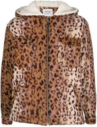 Noon Goons Leopard-Print Zip-Up Jacket