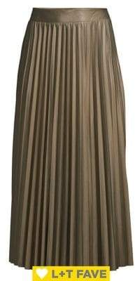 Only Pleated Maxi Skirt