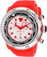Glam Rock Women's GR20129 Miami Beach Chronograph Dial Silicone Watch