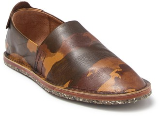 Frye Montauk A Line Leather Slip-On Shoe