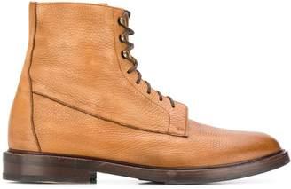 Brunello Cucinelli lace-up boots