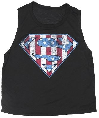 LICENSE Superman Muscle Tank