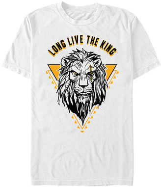 Fifth Sun Tee Shirts WHITE - The Lion King White 'Long Live The King' Scar Tee - Adult