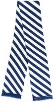 MACKINTOSH striped scarf - women - Silk - One Size