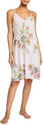 Emma Floral-Print Slip Dress