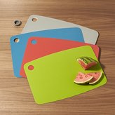Crate & Barrel Non-Slip Cutting Boards Set of Four