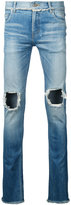 Christian Dada open knees jeans - men - Cotton/Polyurethane - 46