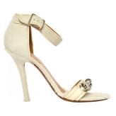 Celine White Heels