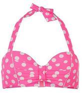 Hot Tuna Womens Halter Bikini Top Ladies Summer Water Pool Beach Swimwear