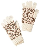 Charlotte Russe Leopard Layered Gloves