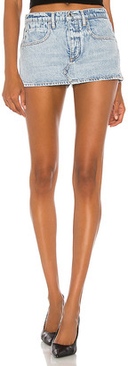 Alexander Wang Mini Low Rise Skort. - size 24 (also