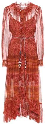 Zimmermann Edie silk midi dress