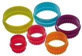 Colourworks Round Cookie Cutter Set