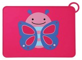 Skip Hop Zoo Fold & Go Silicone Placemat - Butterfly