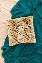 Urban Outfitters Leopard Faux Fur Pillow