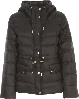 MICHAEL Michael Kors Short Hooded Padded Jacket W/coulisse