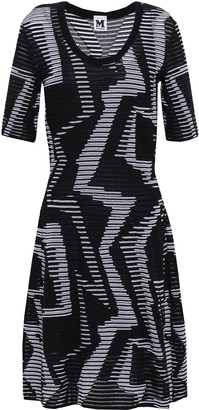 M Missoni Ribbed Crochet-knit Mini Dress
