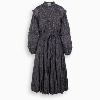 Ulla Johnson Blue Layla midi dress