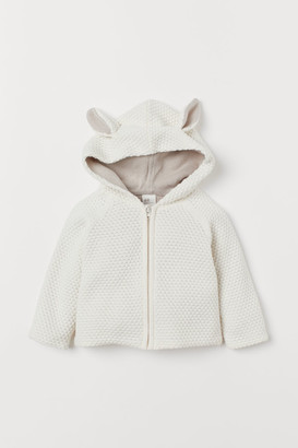 H&M Hooded cotton cardigan