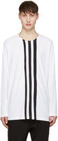 Y-3 White Three Stripe T-Shirt