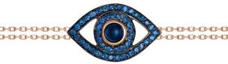 Netali Nissim Rose Gold, Blue Quartz and Sapphire Protected Bracelet