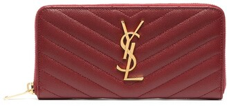 Saint Laurent Monogram zip-around wallet