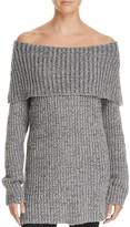 Aqua Off-The-Shoulder Sweater - 100% Exclusive