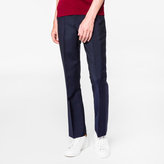 Paul Smith Men's Slim-Fit Navy Wool-Mohair Trousers