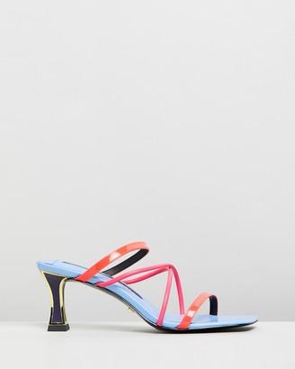 Kat Maconie Pari Leather Heels