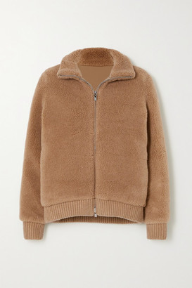 Loro Piana Reversible Cashmere And Silk-blend Bomber Jacket - Camel