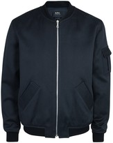A.p.c. Alain Waterproof Cotton Blend Bomber Jacket
