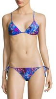 Etro Printed Triangle Bikini Set