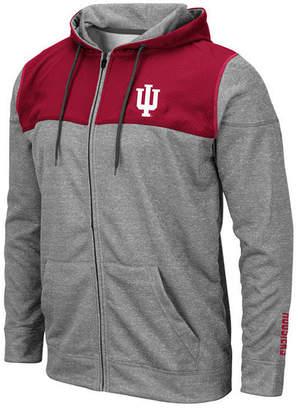 Colosseum Men Indiana Hoosiers Nelson Full-Zip Hooded Sweatshirt
