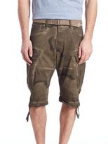 G Star Rovic Camouflage Cargo Shorts