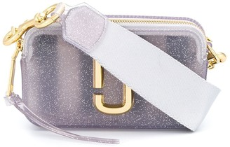 Marc Jacobs The Jelly Glitter Snapshot bag