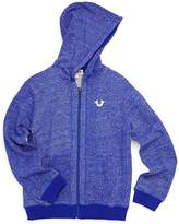 True Religion Little Boy's Marled Cotton Hooded Jacket