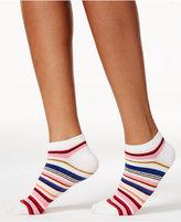Kate Spade Women's Berber Stripe No-Show Socks