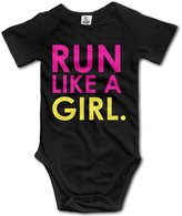 EFDC LAG Kid Baby Onesies Run Like A Girl. Fast. Coveralls Clothing Sets