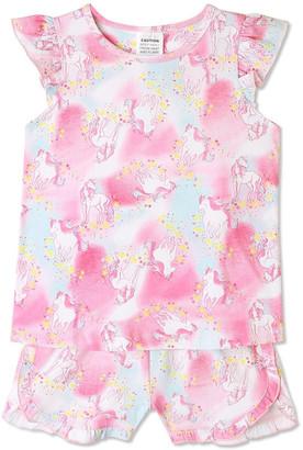 Milkshake Unicorn Clouds Pyjama
