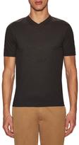 Armani Collezioni Front Embroidered Logo T-Shirt
