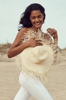 Urban Outfitters Playa Fringed Brim Floppy Hat