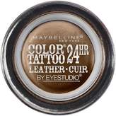 Maybelline Color Tattoo 24Hr Leather by EyeStudio Cream Gel Eyeshadow