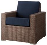 Nobrand No Brand Heatherstone Wicker Patio Club Chair - Threshold