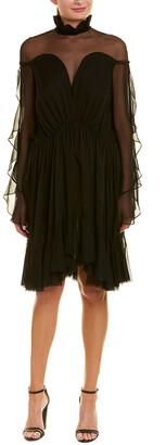 Jonathan Simkhai Chiffon A-Line Dress