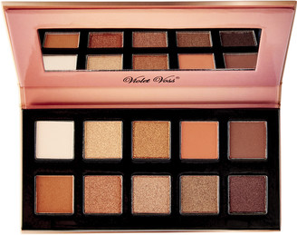 Violet Voss Fun Sized Eye Shadow Palette Creme Brulee