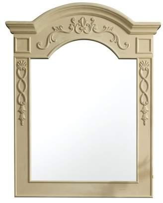 "James Martin Vanities European Traditions Mirror, Antique White, 32"""