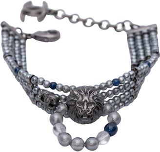 Chanel CC Grey Pearls Bracelets