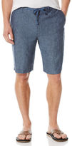 Perry Ellis Linen Drawstring Short