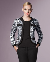 Animal-Print Jacket, Women's
